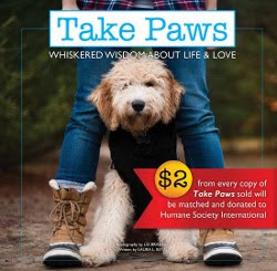 LATEST BOOK: TAKE PAWS