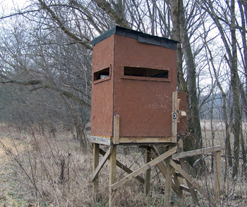 Diary of a physician assistant wannabe when is shadowing for Easy deer blind plans