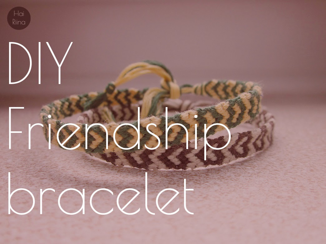diy, friendship bracelet, step by step, heart