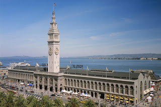 san francisco-ferry building-over view