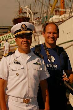 Z marynarzem z Cuauhtemoc