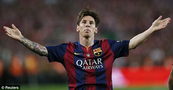 Lionel Messi dengan Goal solo nya yang luar biasa di Final Copa Del Rey