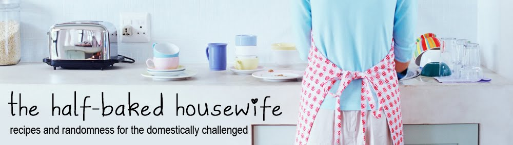 The Half-Baked Housewife