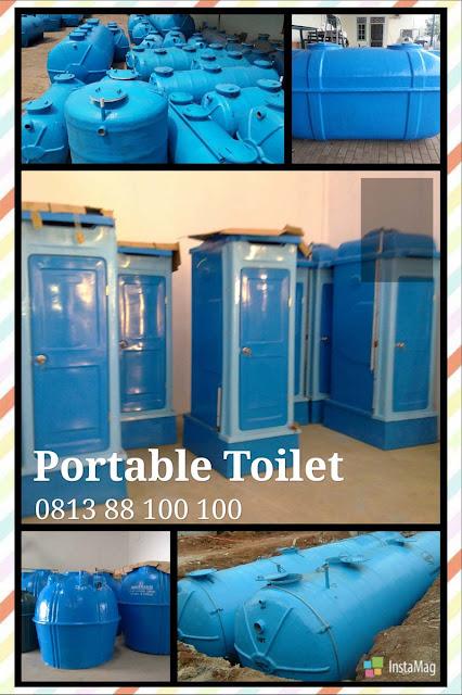 septic tank biotech modern dan ramah lingkungan, flexible toilet fiberglass