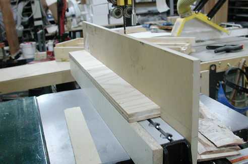 how to make a bandsaw resaw fence