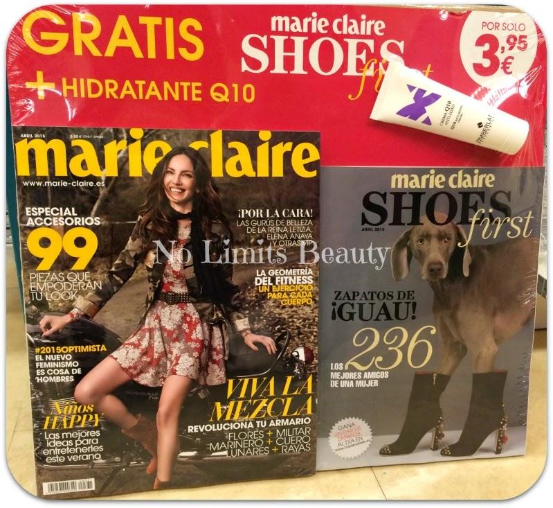 Regalos revistas Abril 2015: Marie Claire