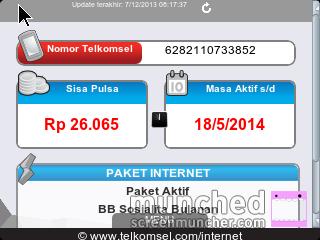 menu My Telkomsel