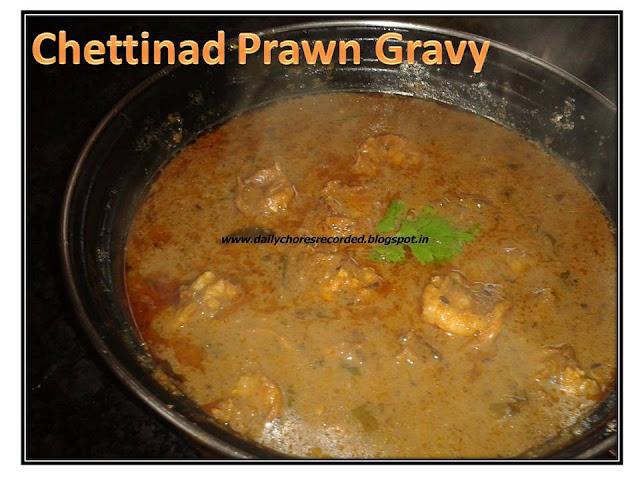 Chettinad Prawn Gravy