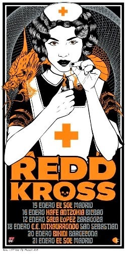 "REDD KROSS: ""El Sol"" Madrid (21-1-2014)"