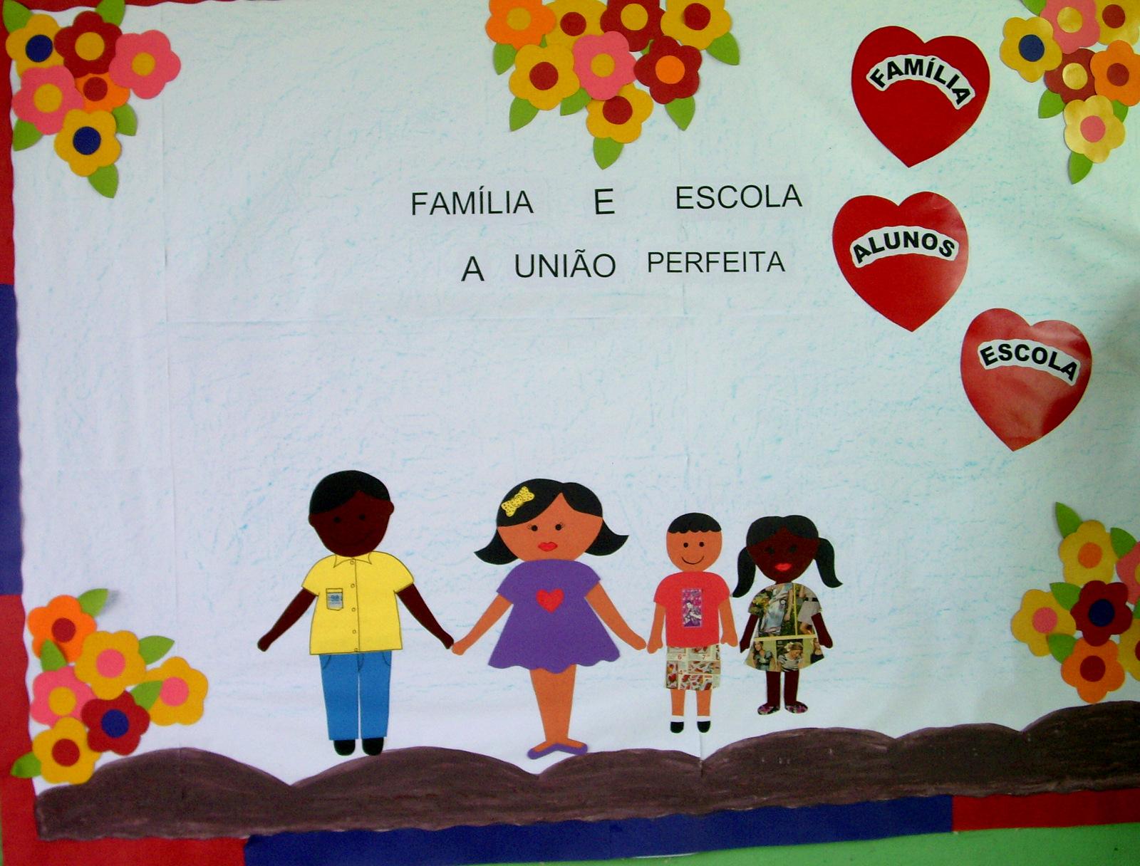 Escola est norma morhy fam lia e escola em busca de uma for Mural de natal 4 ano