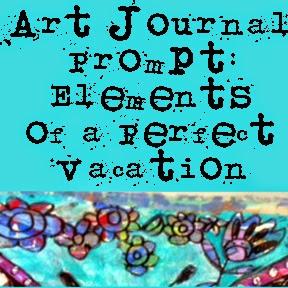 art journal ideas | art journal pages | art journal techniques on http://schulmanart.blogspot.com/2014/08/summer-challenge-series.html