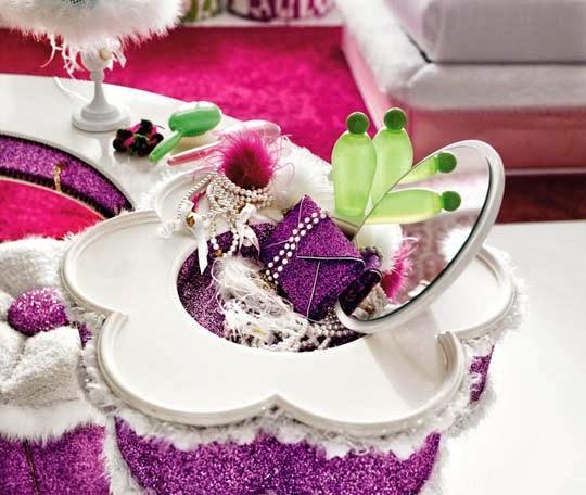 objeto decoração romântica