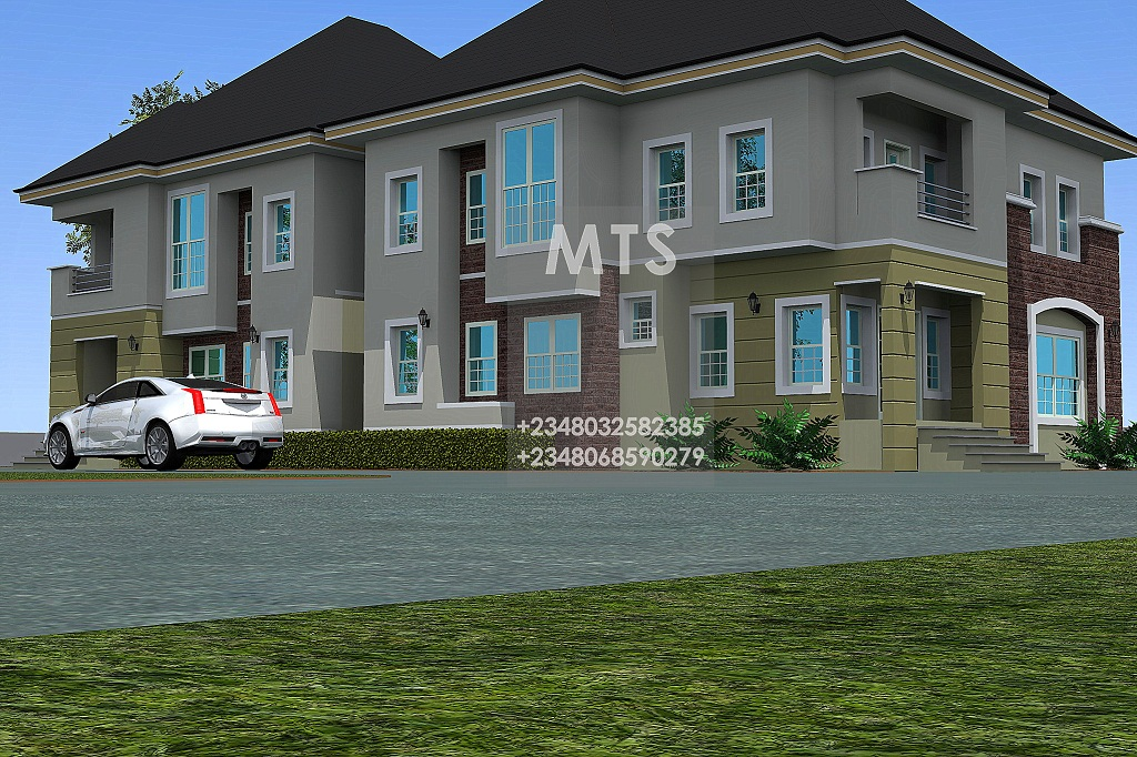4 bedroom twin duplex residential homes and public designs for 6 bedroom duplex house plans