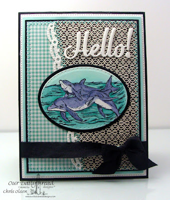 Our Daily Bread Designs Stamp set: Under the Sea, Our Daily Bread Designs Custom Dies: Hello, Ovals, Stitched Ovals, Beautiful Borders, Flourished Star Pattern,