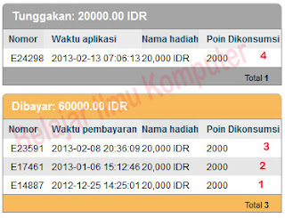 Bukti Pembayaran Ipanel Online