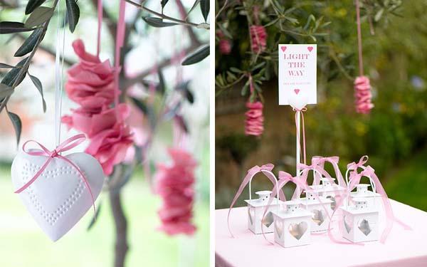 Decoração marrom e rosa | Blog de Casamento