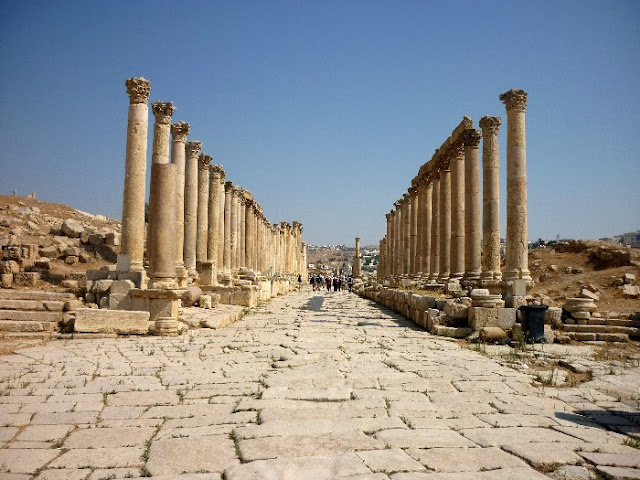 visita di jerash, giordania