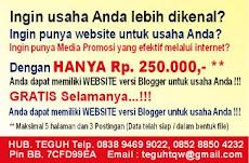 Website Blogger Murah