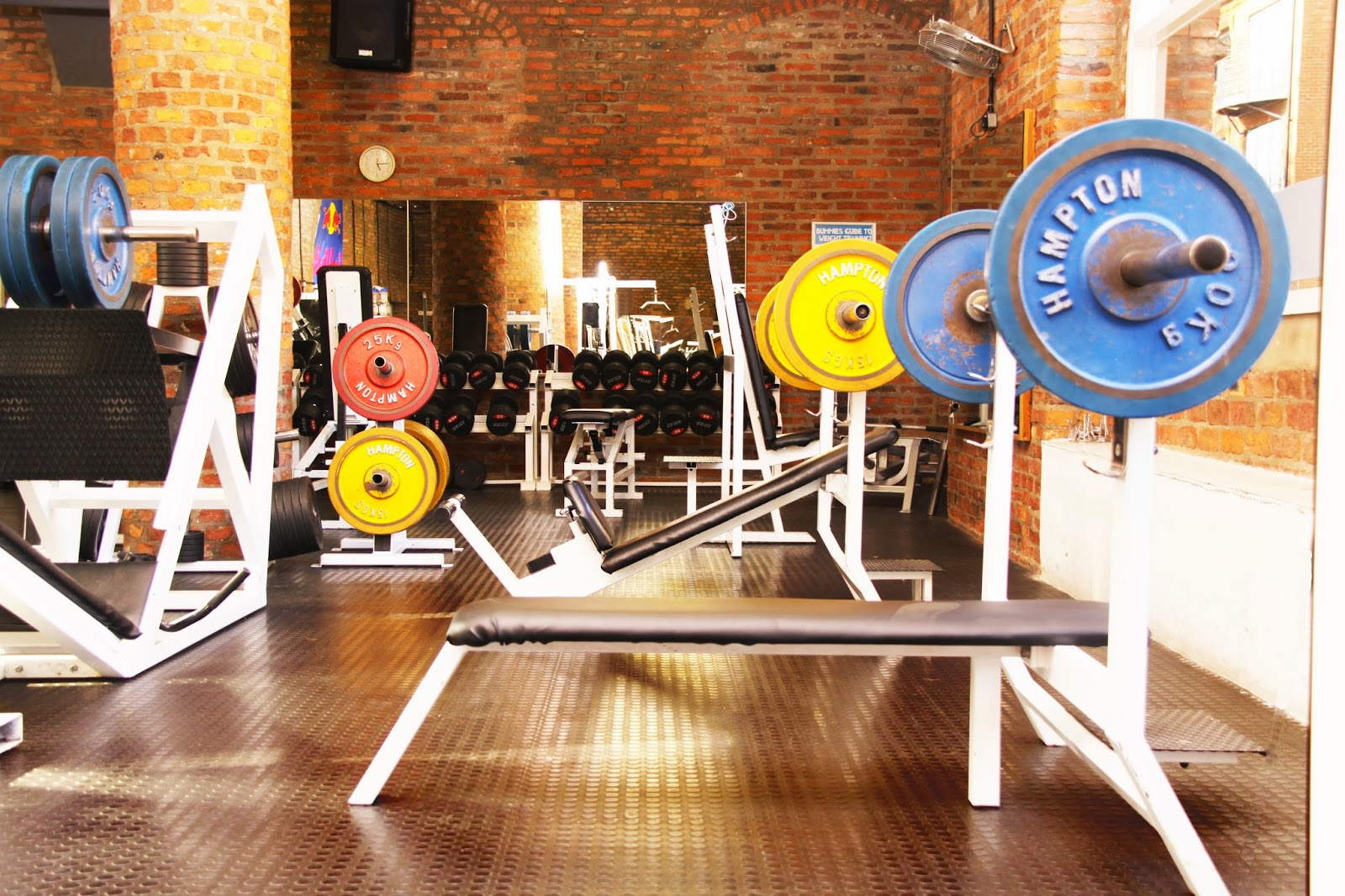 A picture of the weights section at Emperors Health Club and Gym