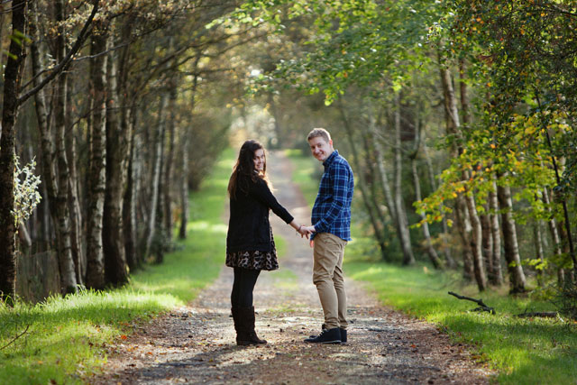 Engagement Story | The Road to Less Cake