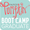 Paper Pumpkin Boot Camp Graduate