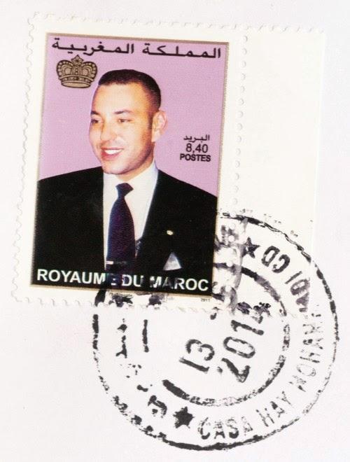 stamp, morocco