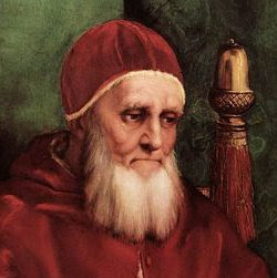 GAY ICON: Pope Julius II