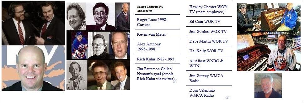TV/Radio/PA  Announcers/Organist