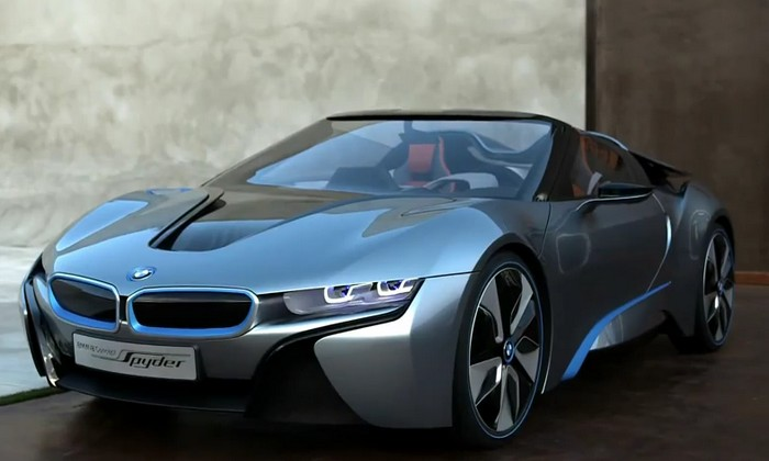 Information and Review Car: 2013 BMW i8 Spyder Concept