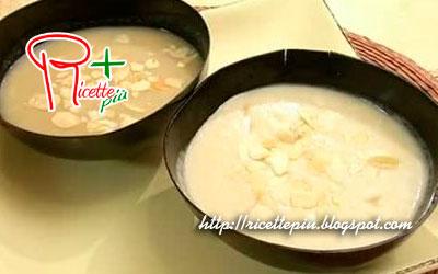 Crema di Cavolfiore con Gorgonzola e Mandorle di Cotto e Mangiato