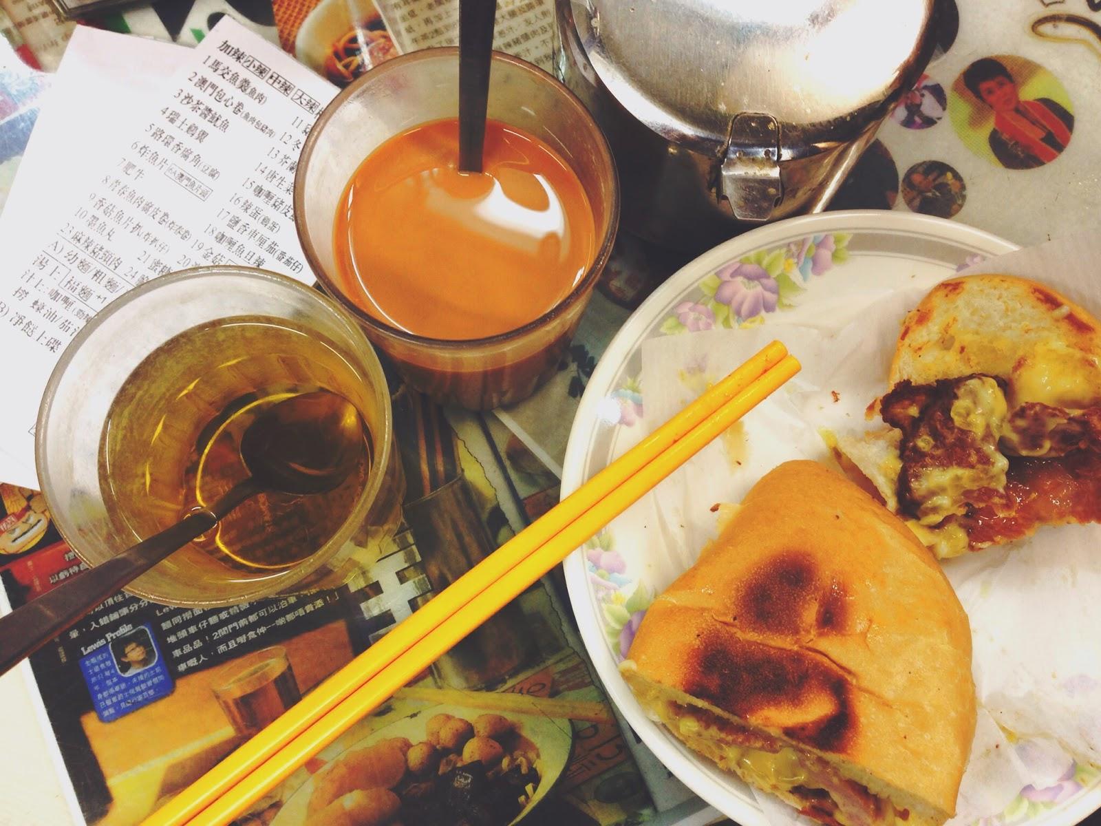 Chopsticks Kee at Wellington St (筷子記) Pork Chop Bun