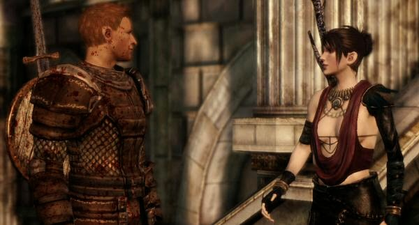 Dragon Age: Origins morrigan and alistair