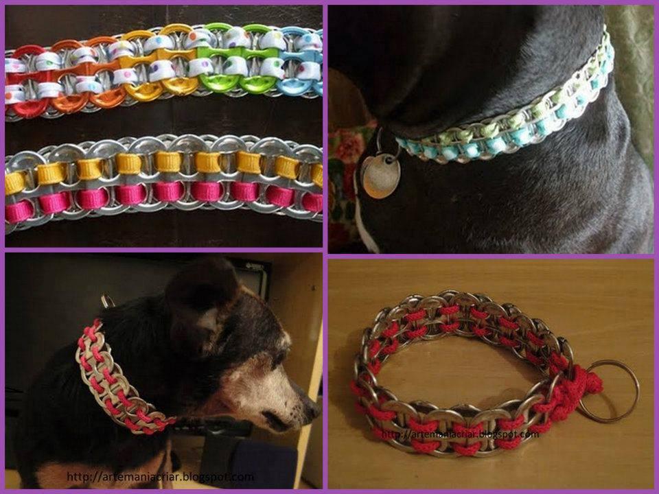 Tejiendo basura el detalle que for Como hacer un collar para perro