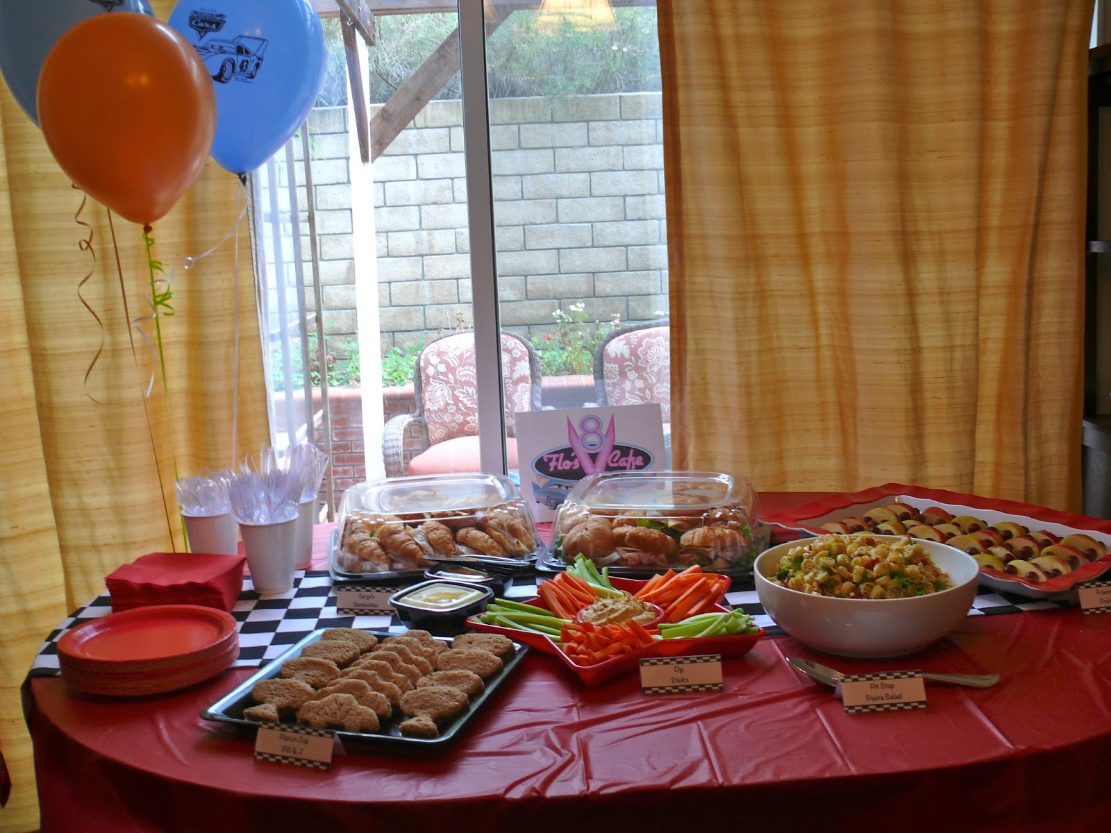 Imperfect Fabulous Disney Cars Party