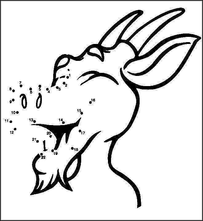 COLOREA TUS DIBUJOS: Cabras para colorear