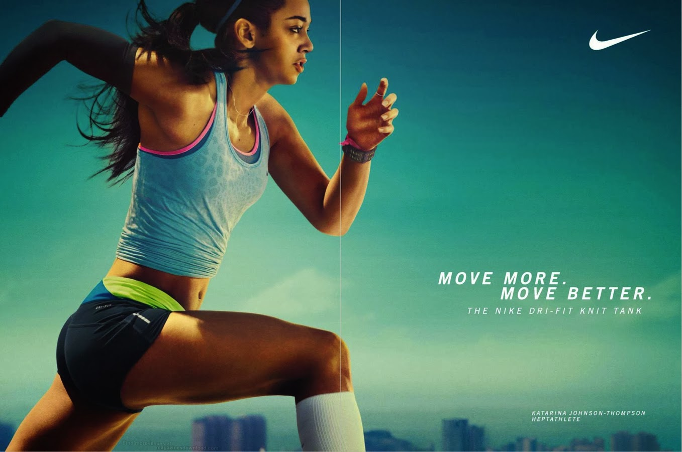 Nike ad - Woman running, close up | Fitness Photography ...