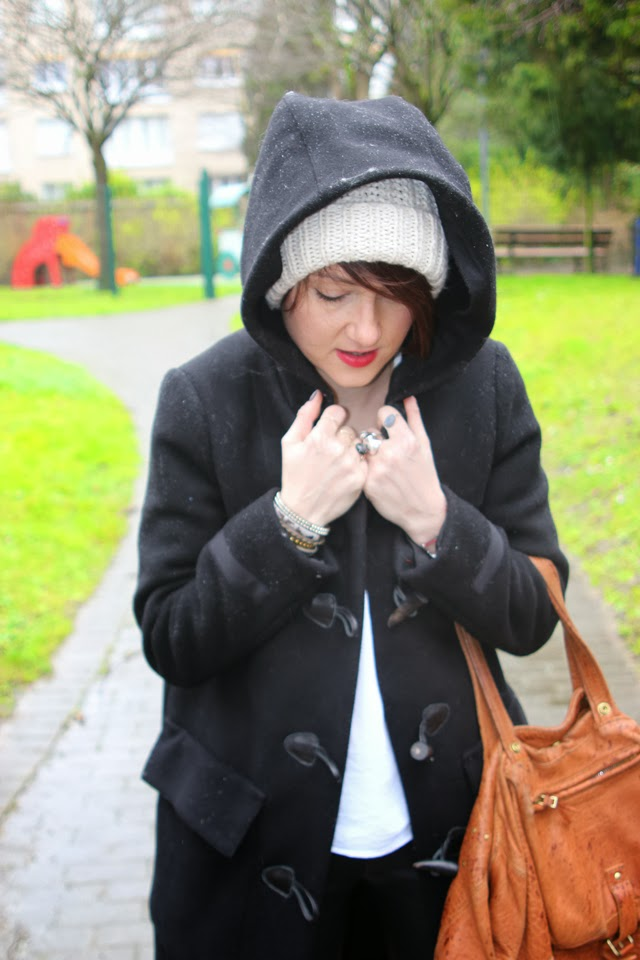 duffle coat, dreyfuss, blog, fashion blogger, blog mode lille, zara, duffle coat
