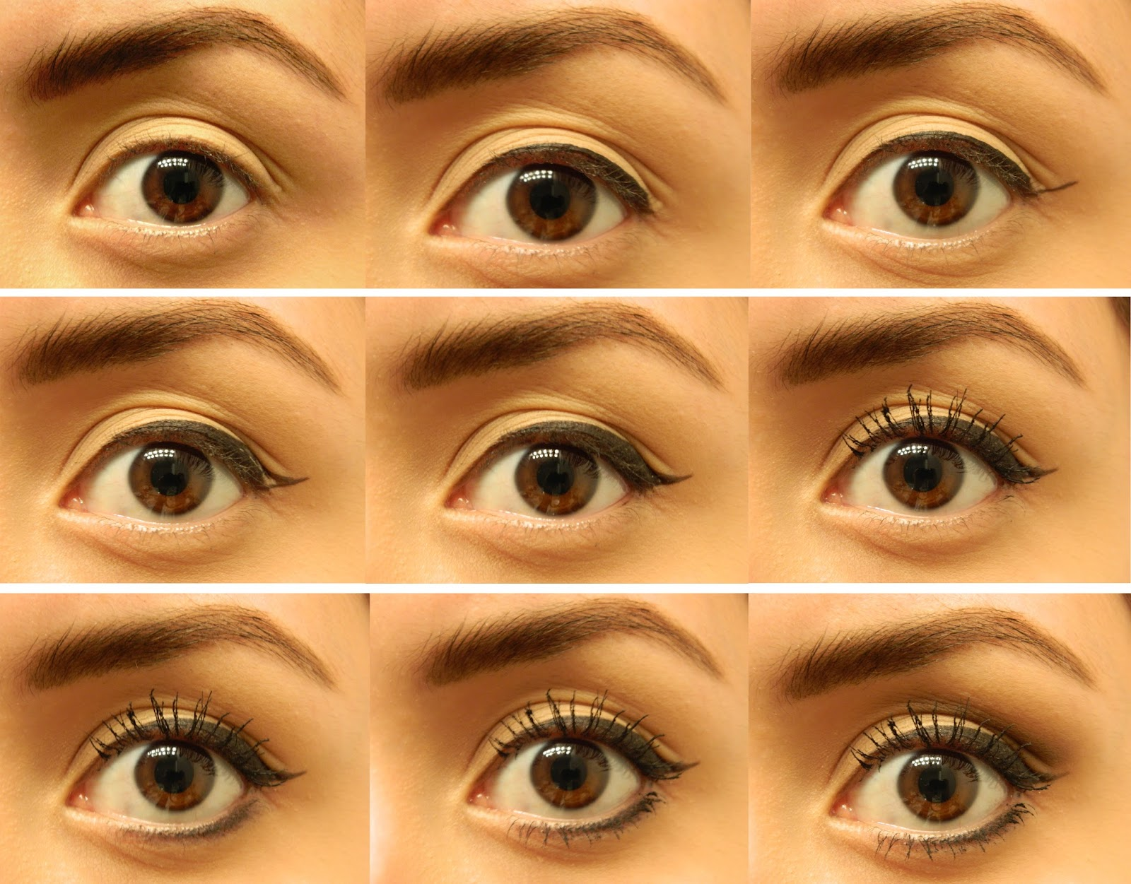 fashionaccro: Eye Makeup Step by Step Tutorial: Eye liner