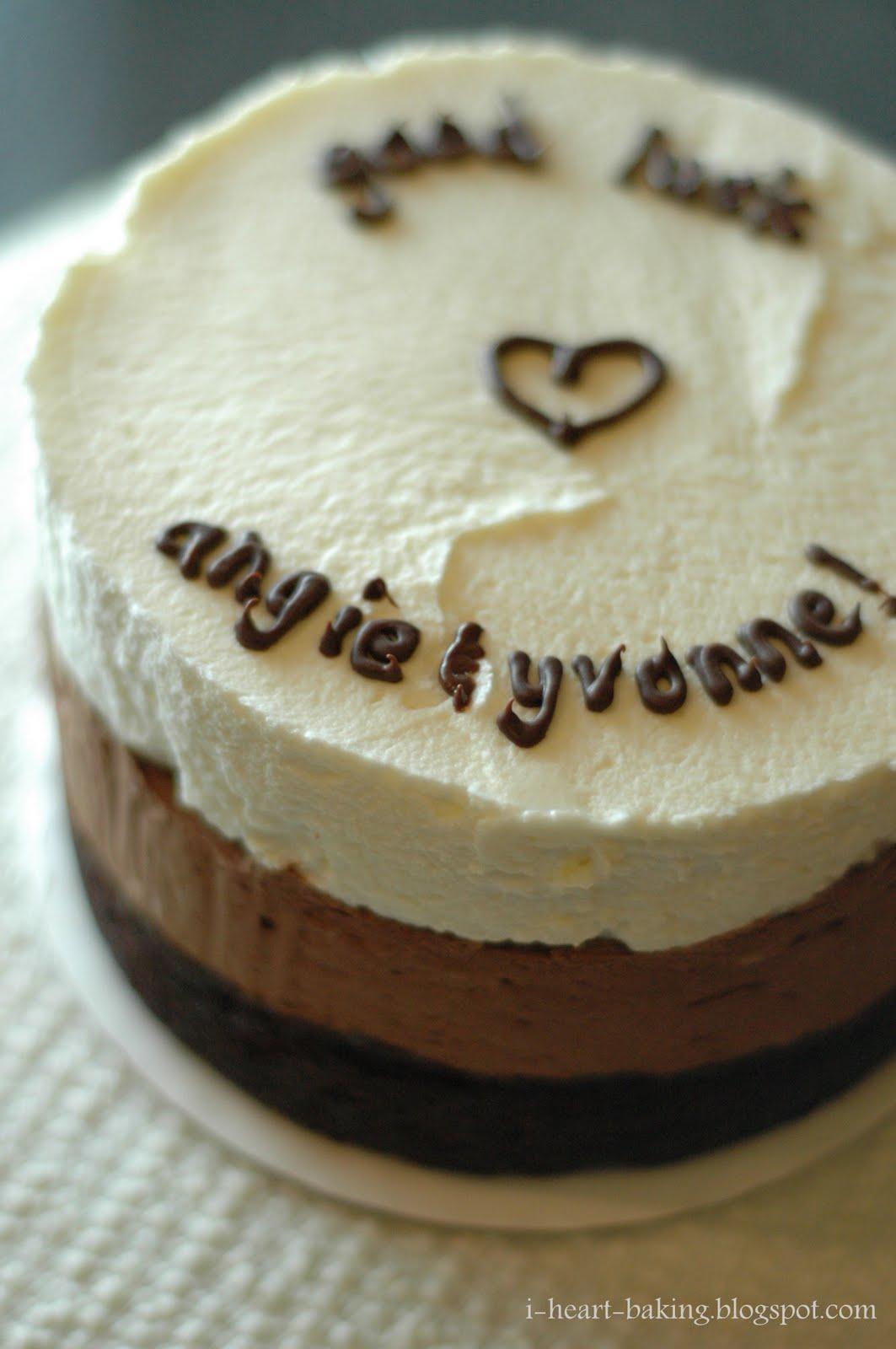 Layered Ribbon Cake