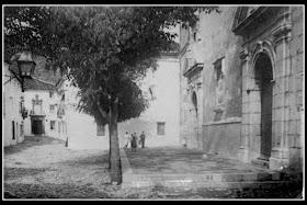 Grazalema. Plaza Pequeña. 1904