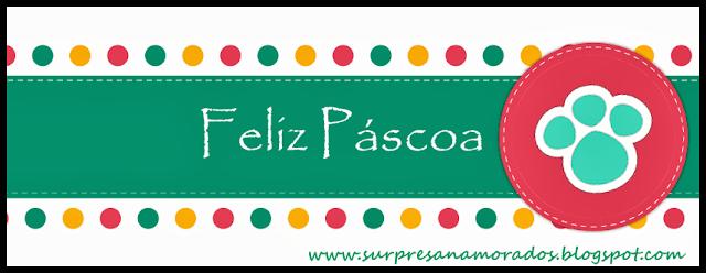 cartão feliz páscoa 2013