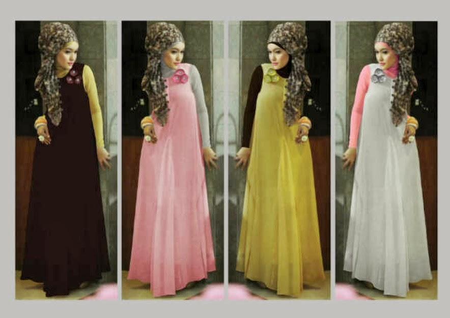 Model Baju Hamil Muslim Untuk Pesta 4 Bulan