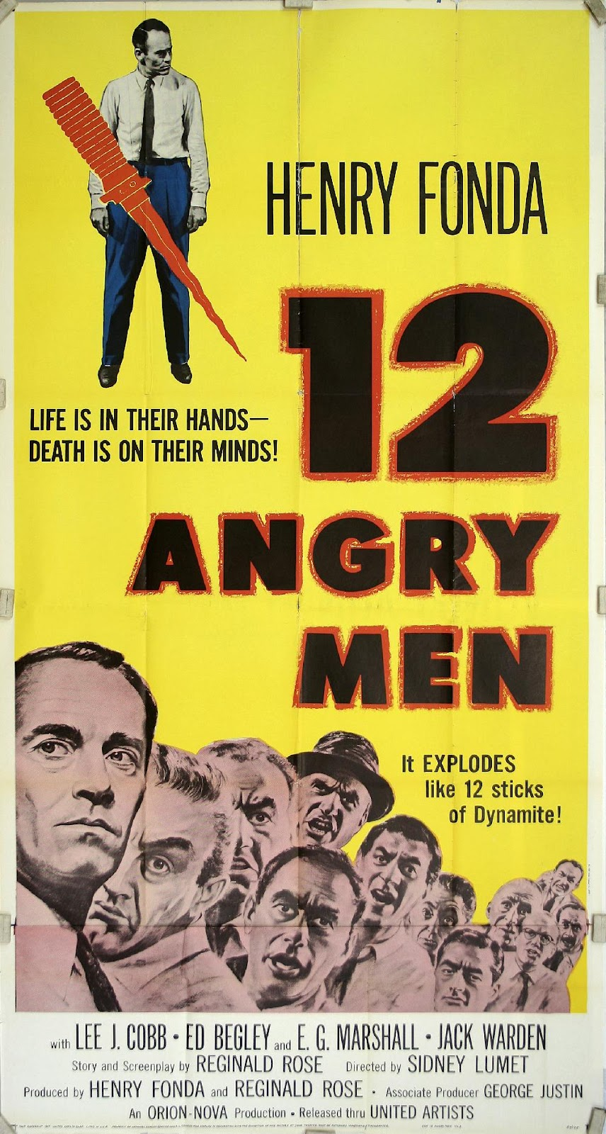 12 Angry Men and To Kill A Mockingbird