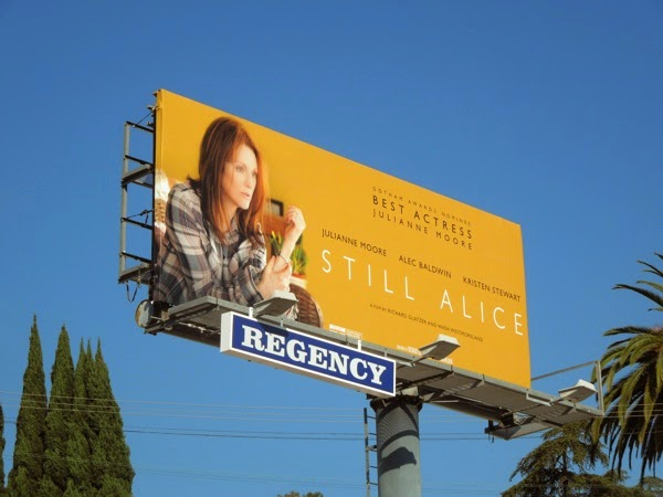 Still Alice movie billboard