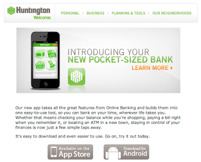 Huntington bank online app