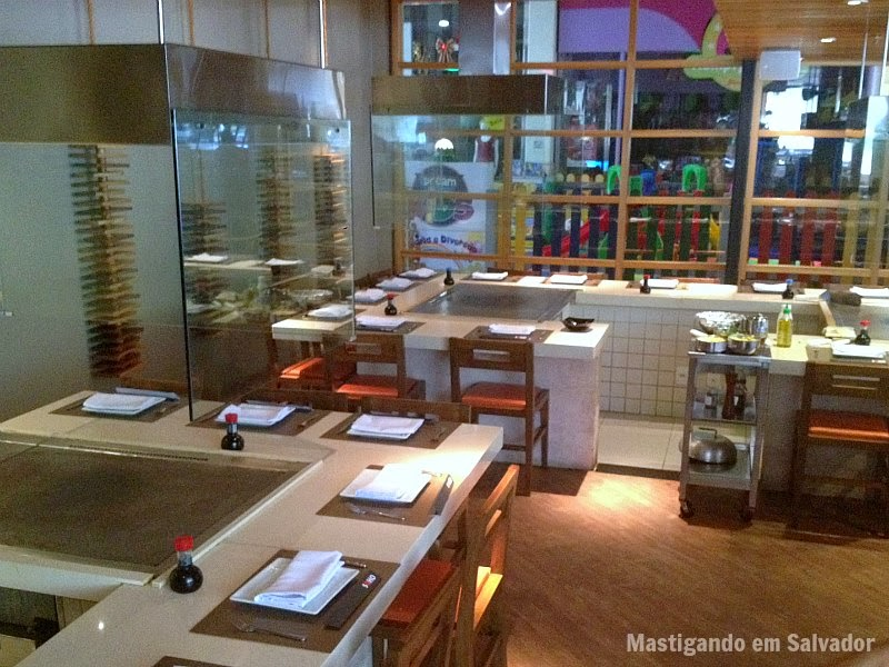 Soho Restaurante: Ambiente interno da unidade do Shopping Paseo