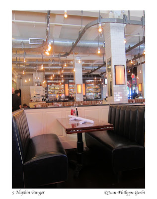 Image of 5 Napkin Burger restaurant in Hell's Kitchen NYC, New York