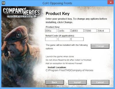Keygen Company Of Heroes - YouTube