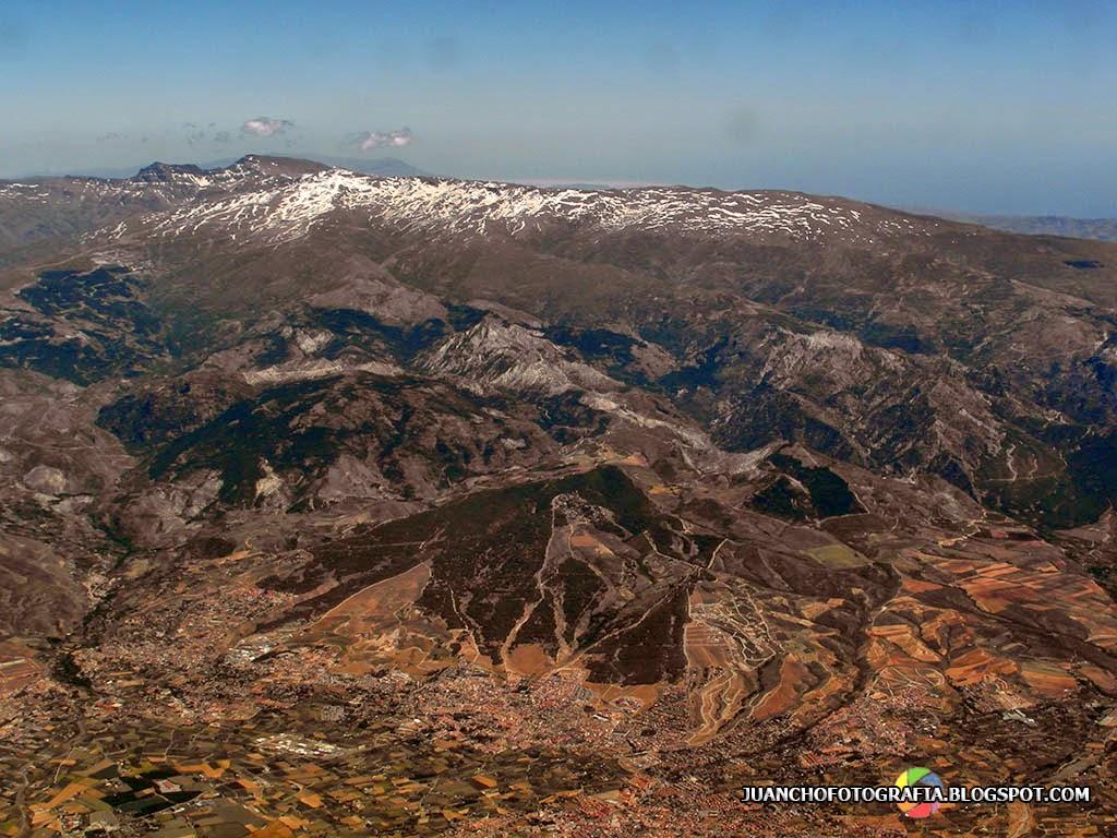 Sierra Nevada Fotografía aerea