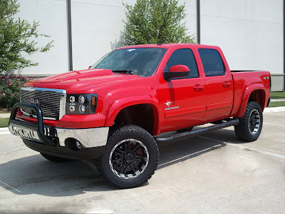 2012 Black Widow Truck http://www.liftedgmtrucks.com/2012/10/2013-gmc-sierra-black-widow-by-southern.html